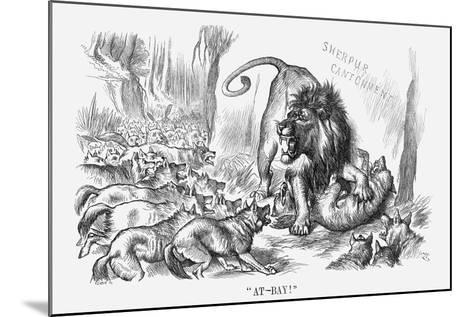 At-Bay, 1880-Joseph Swain-Mounted Giclee Print