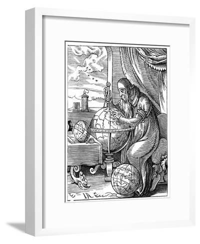 A German Man of Letters, 16th Century Giclee Print by Jost Amman ...