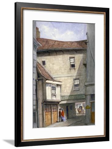 Bell Tavern, Addle Hill, London, 1868-JT Wilson-Framed Art Print