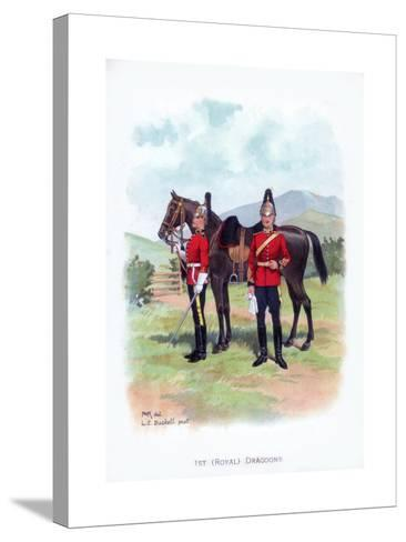 1st Royal Dragoons, C1915-LE Buckell-Stretched Canvas Print