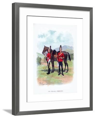 1st Royal Dragoons, C1915-LE Buckell-Framed Art Print