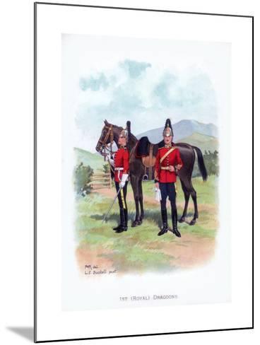 1st Royal Dragoons, C1915-LE Buckell-Mounted Giclee Print