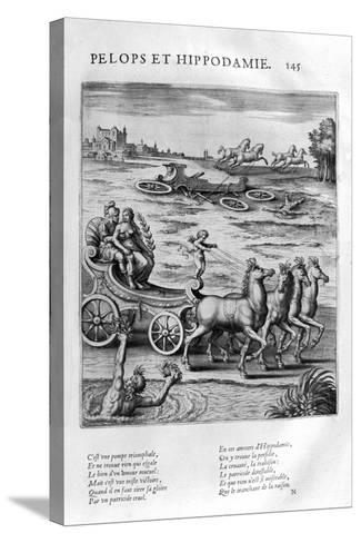 Pelops and Hippodamia, 1615-Leonard Gaultier-Stretched Canvas Print