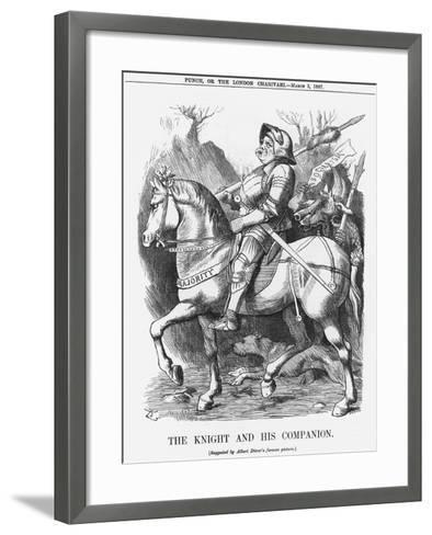 The Knight and His Companion, 1887-Joseph Swain-Framed Art Print