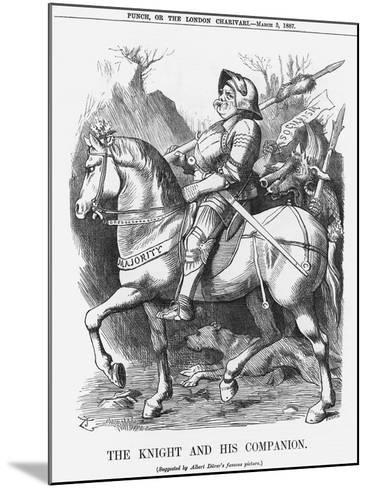 The Knight and His Companion, 1887-Joseph Swain-Mounted Giclee Print