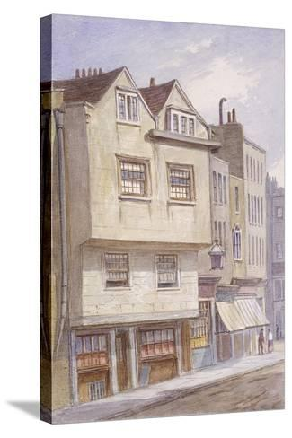 Fetter Lane, London, 1870-JT Wilson-Stretched Canvas Print