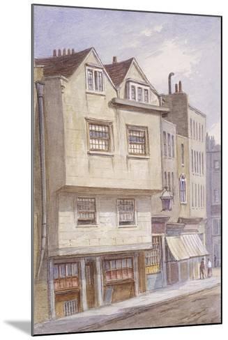 Fetter Lane, London, 1870-JT Wilson-Mounted Giclee Print