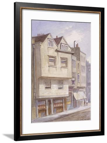 Fetter Lane, London, 1870-JT Wilson-Framed Art Print
