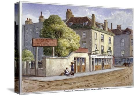 Old Goat and Compasses Inn, Marylebone Road, London, 1868-JT Wilson-Stretched Canvas Print