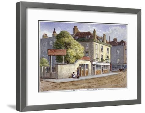 Old Goat and Compasses Inn, Marylebone Road, London, 1868-JT Wilson-Framed Art Print