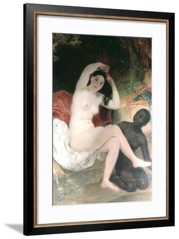 Female and David, 1832-Karl Briullov-Framed Art Print