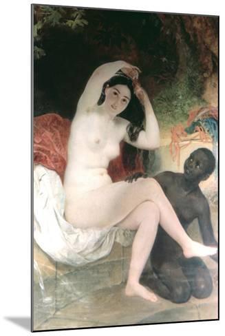 Female and David, 1832-Karl Briullov-Mounted Giclee Print