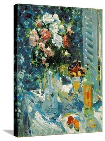 Flowers and Fruits, 1911-1912-Konstantin Korovin-Stretched Canvas Print