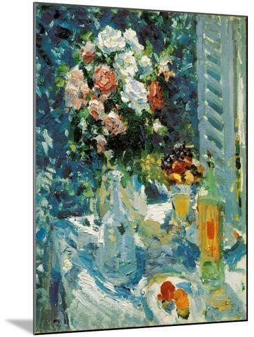 Flowers and Fruits, 1911-1912-Konstantin Korovin-Mounted Giclee Print