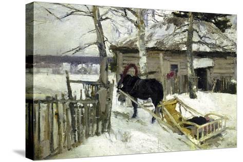 Winter, 1894-Konstantin Korovin-Stretched Canvas Print