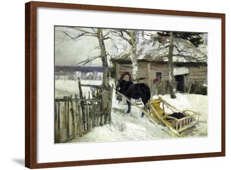 Winter, 1894-Konstantin Korovin-Framed Art Print