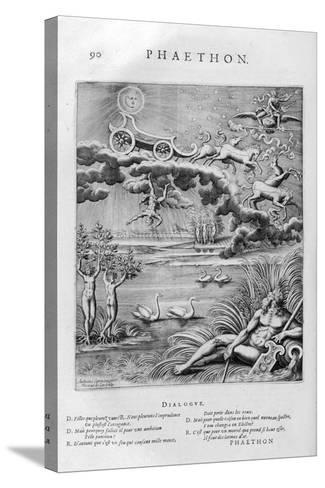 The Fall of Phaeton, 1615-Leonard Gaultier-Stretched Canvas Print