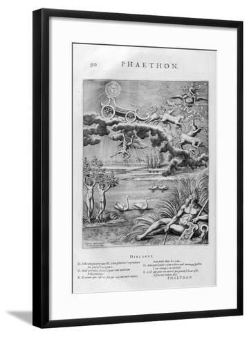 The Fall of Phaeton, 1615-Leonard Gaultier-Framed Art Print