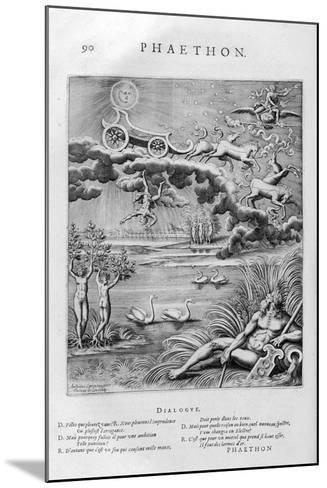 The Fall of Phaeton, 1615-Leonard Gaultier-Mounted Giclee Print