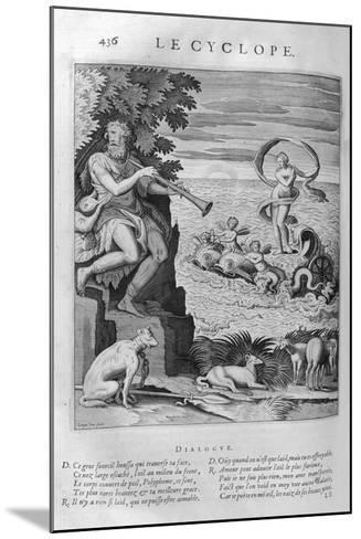 The Cyclops, 1615-Leonard Gaultier-Mounted Giclee Print