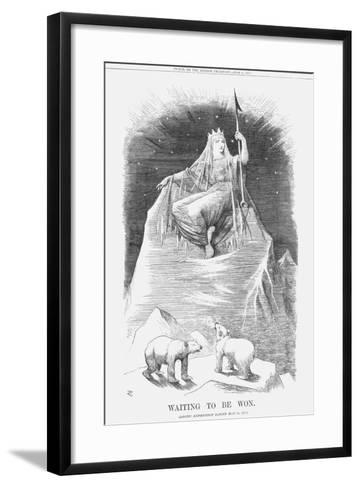 Waiting to Be Won, 1875-Joseph Swain-Framed Art Print