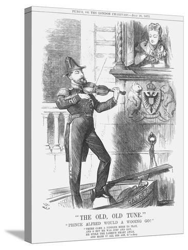 The Old, Old Tune, 1873-Joseph Swain-Stretched Canvas Print