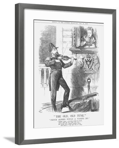 The Old, Old Tune, 1873-Joseph Swain-Framed Art Print