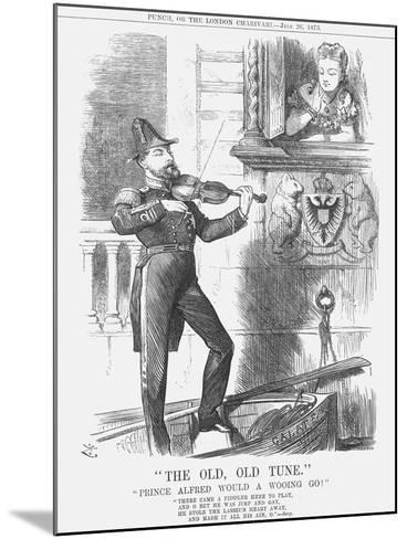 The Old, Old Tune, 1873-Joseph Swain-Mounted Giclee Print