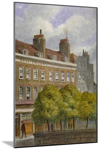 View of the Bell Tavern, Church Row, Aldgate, City of London, 1870-JT Wilson-Mounted Giclee Print