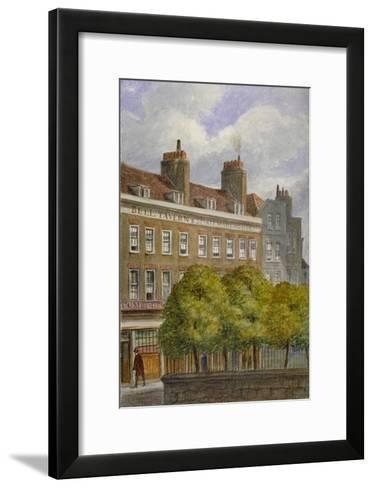 View of the Bell Tavern, Church Row, Aldgate, City of London, 1870-JT Wilson-Framed Art Print