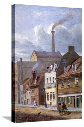 The White Hart Inn, High Street, Shadwell, London, C1865-JT Wilson-Stretched Canvas Print