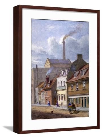 The White Hart Inn, High Street, Shadwell, London, C1865-JT Wilson-Framed Art Print