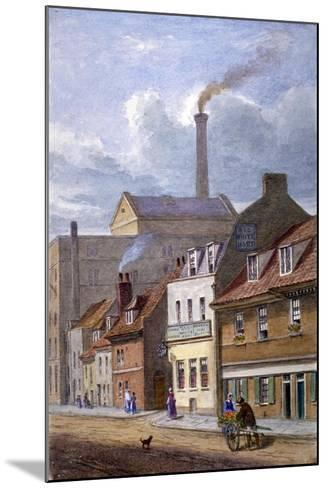 The White Hart Inn, High Street, Shadwell, London, C1865-JT Wilson-Mounted Giclee Print