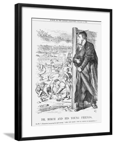 Dr. Birch and His Young Friends, 1880-Joseph Swain-Framed Art Print