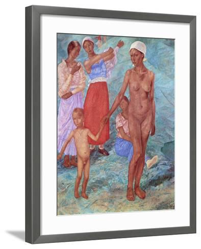 Morning, 1917-Kuz'ma Petrov-Vodkin-Framed Art Print
