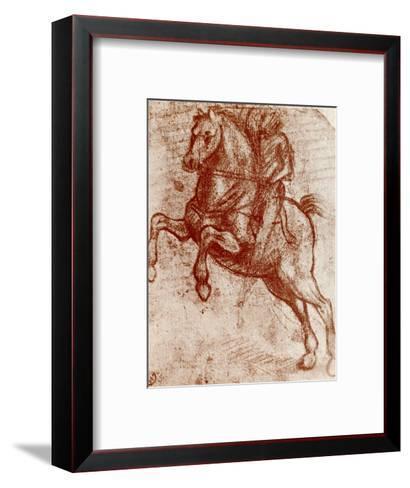 Study of a Knight, 1913-Leonardo da Vinci-Framed Art Print