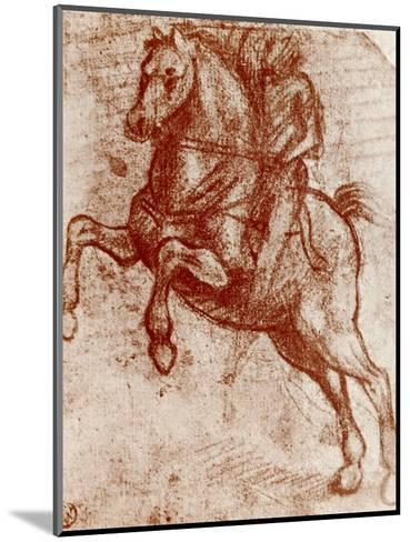 Study of a Knight, 1913-Leonardo da Vinci-Mounted Giclee Print