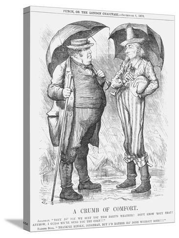 A Crumb of Comfort, 1879-Joseph Swain-Stretched Canvas Print