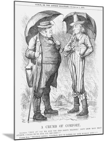 A Crumb of Comfort, 1879-Joseph Swain-Mounted Giclee Print