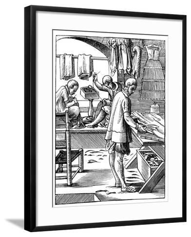 Tailor, 16th Century-Jost Amman-Framed Art Print
