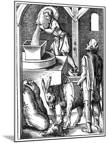 Miller, 16th Century-Jost Amman-Mounted Giclee Print