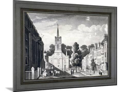 Church Row, Hampstead, London, C1830-L Garne-Mounted Giclee Print