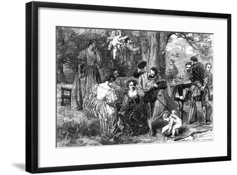 Love's Labour's Lost, 1856-Orrin Smith-Framed Art Print