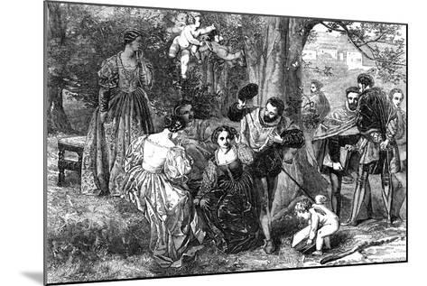 Love's Labour's Lost, 1856-Orrin Smith-Mounted Giclee Print