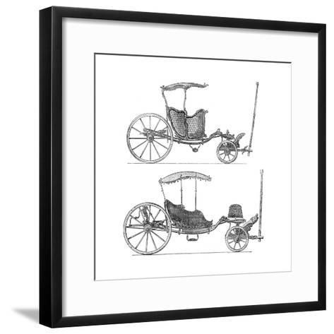 Carriages- Lucotte-Framed Art Print