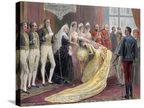 Jubilee Drawing Room, 1887- Ludlow-Stretched Canvas Print