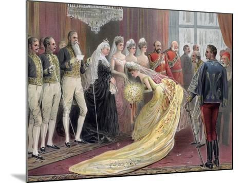 Jubilee Drawing Room, 1887- Ludlow-Mounted Giclee Print