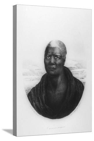Kamehameha I, Hawaii, 1816-Ludwig Choris-Stretched Canvas Print