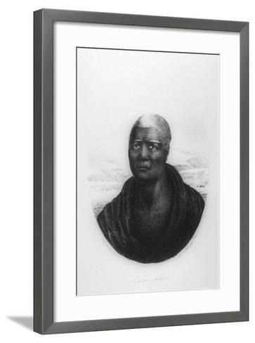 Kamehameha I, Hawaii, 1816-Ludwig Choris-Framed Art Print