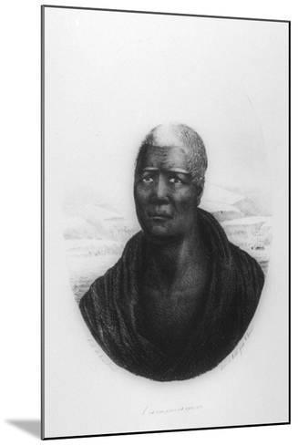 Kamehameha I, Hawaii, 1816-Ludwig Choris-Mounted Giclee Print